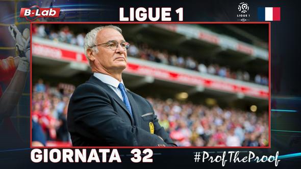 Ligue1 del PROF Giornata 32