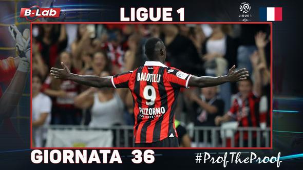 Ligue1 del PROF Giornata 36