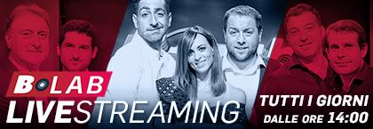 B-Lab Live! – live streaming tutti i giorni dalle 14