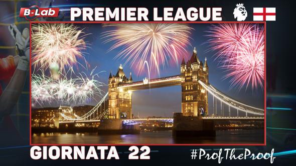 Premier League del PROF Giornata 22 pronostici e BOLLETTA 1 gennaio 2018 speciale Capodanno