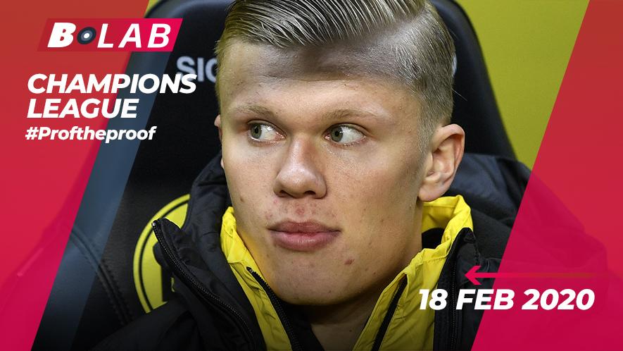 Champions League 18 Febbraio 2020