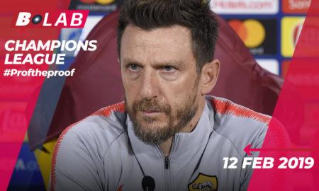 Champions League 12 Febbraio 2019