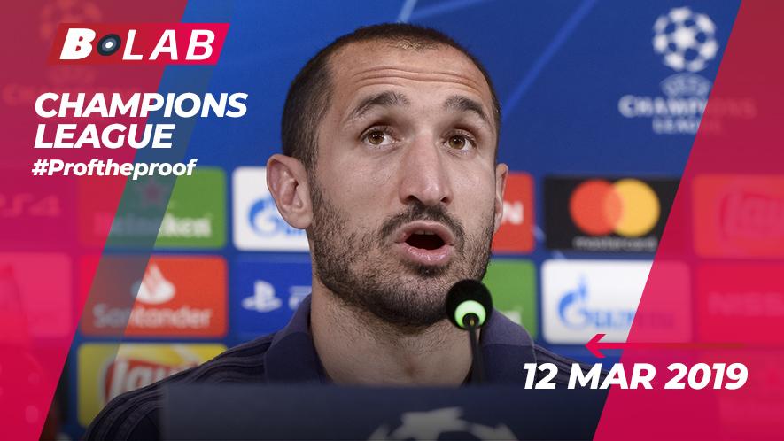 Champions League 12 Marzo 2019