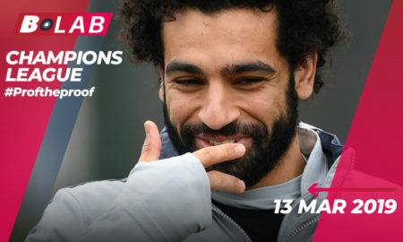 Champions League 13 Marzo 2019