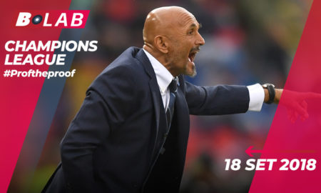 Champions League del 18 Settembre 2018