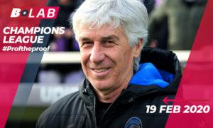 Champions League 19 Febbraio 2020