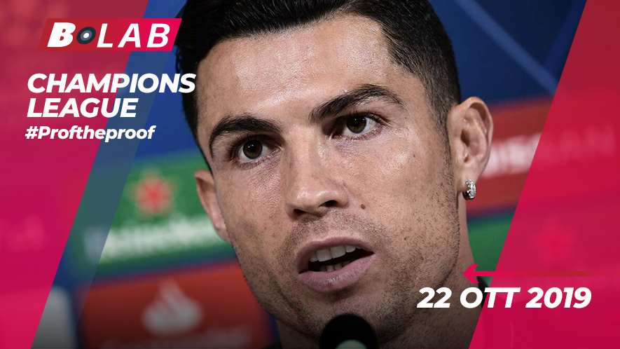 Champions League 22 Ottobre 2019