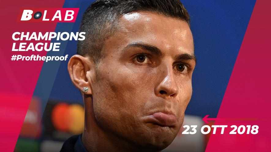 Champions League del 23 Ottobre 2018