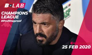 Champions League 25 Febbraio 2020