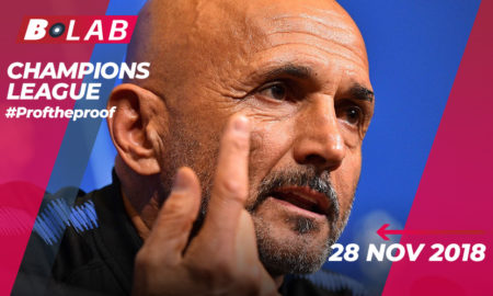 Champions League del 28 Novembre 2018