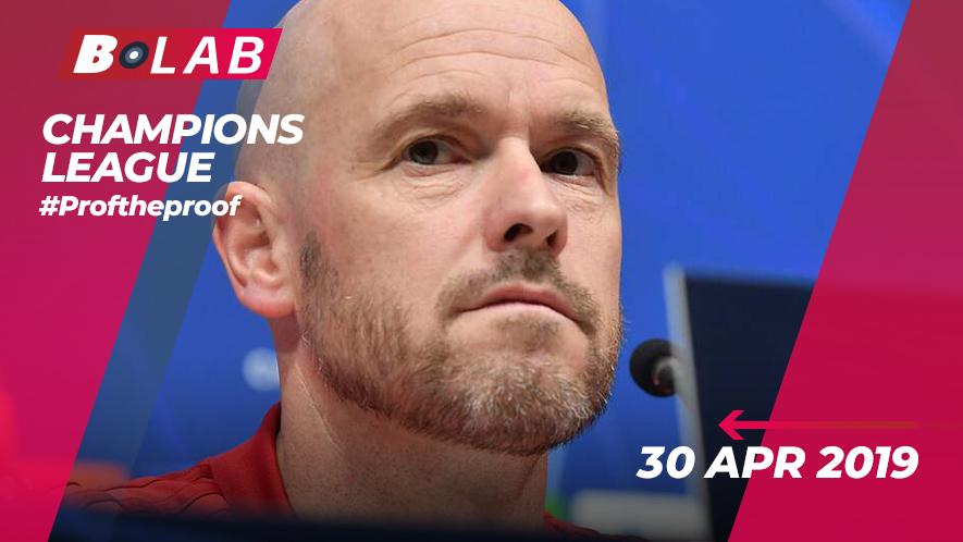 Champions League 30 Aprile 2019