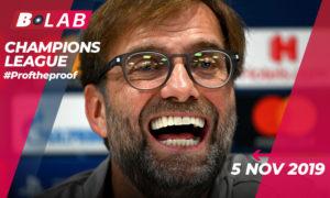 Champions League 5 Novembre 2019