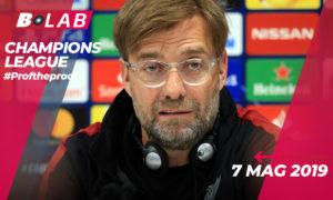 Champions League 7 Maggio 2019