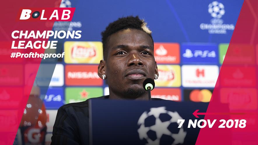 Champions League del 7 Novembre 2018