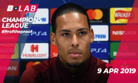 Champions League 9 Aprile 2019