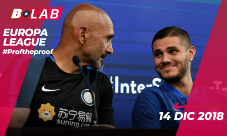 Europa League 14 Febbraio 2019