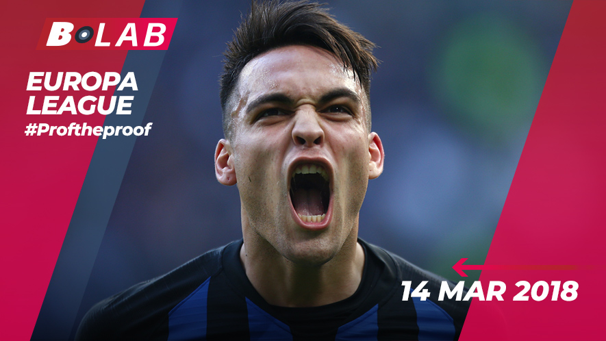 Europa League 14 Marzo 2019