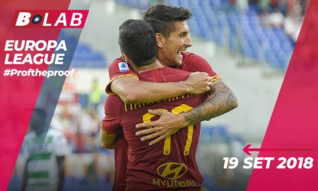 Europa League 19 Settembre 2019