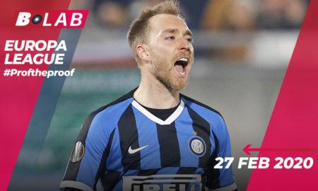 Europa League 27 Febbraio 2020