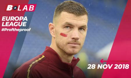 Europa League 28 Novembre 2019