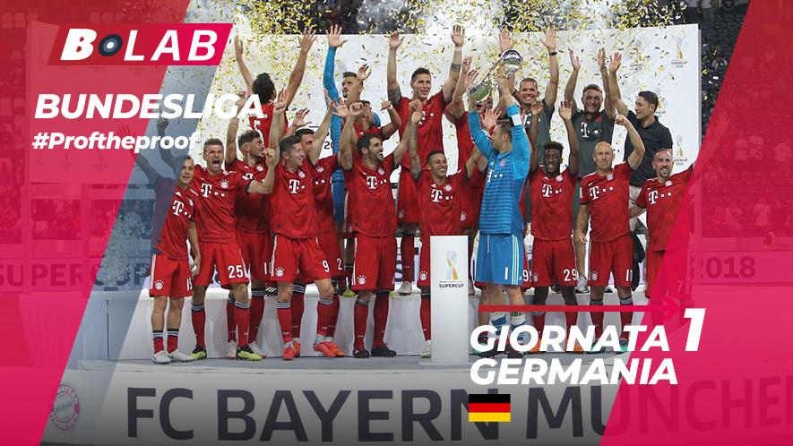 Bundesliga del PROF Giornata 1