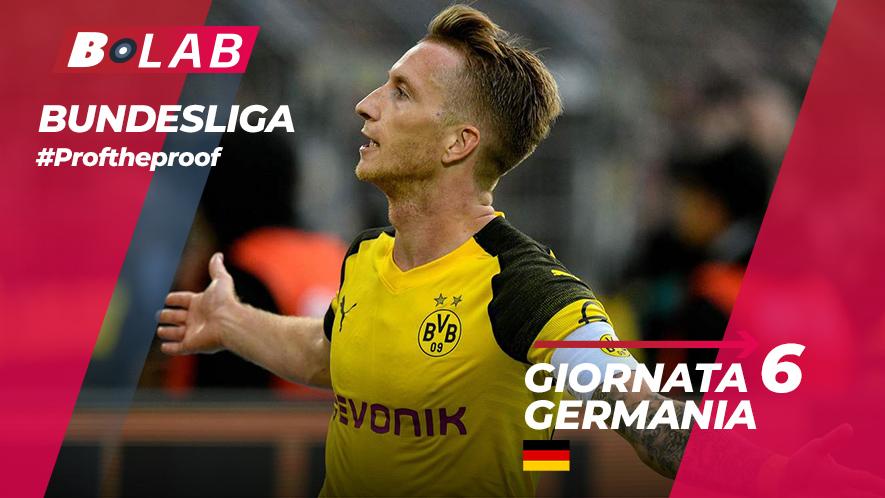 Bundesliga del PROF Giornata 6