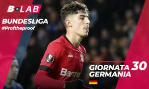 Pronostici Bundesliga Giornata 30 2019/20 tutte le dritte e le scommesse di Prof The Proof bonus + free bet