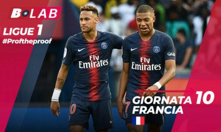 Ligue 1 del PROF Giornata 10