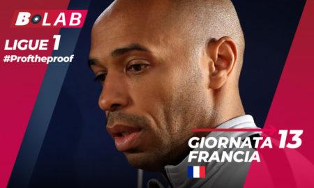 Ligue 1 del PROF Giornata 13