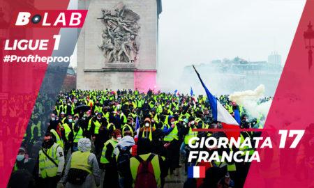 Ligue 1 del PROF Giornata 17