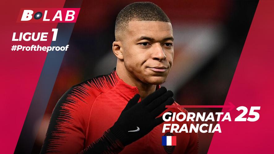 Ligue 1 del PROF Giornata 25