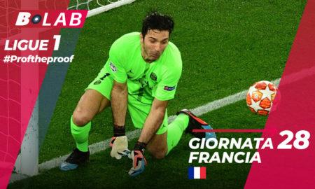 Ligue 1 del PROF Giornata 28