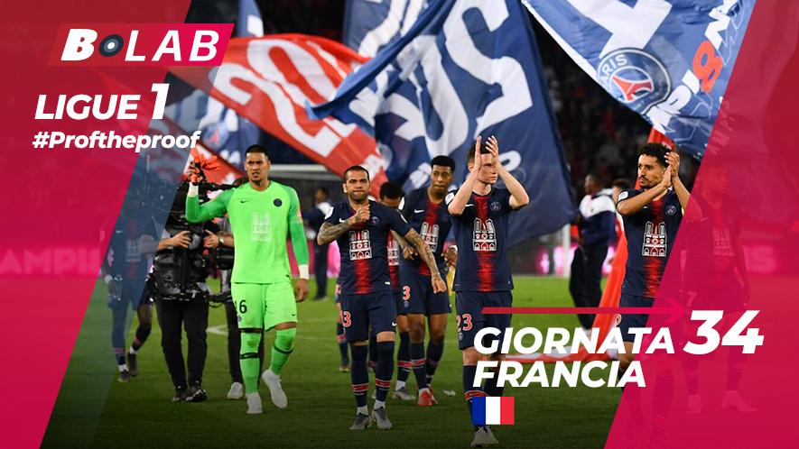 Ligue 1 del PROF Giornata 34