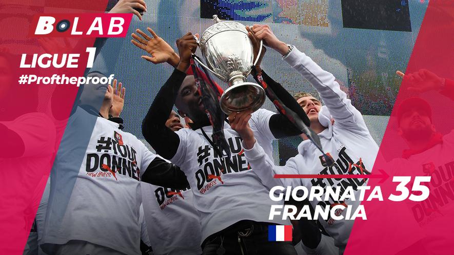 Ligue 1 del PROF Giornata 35