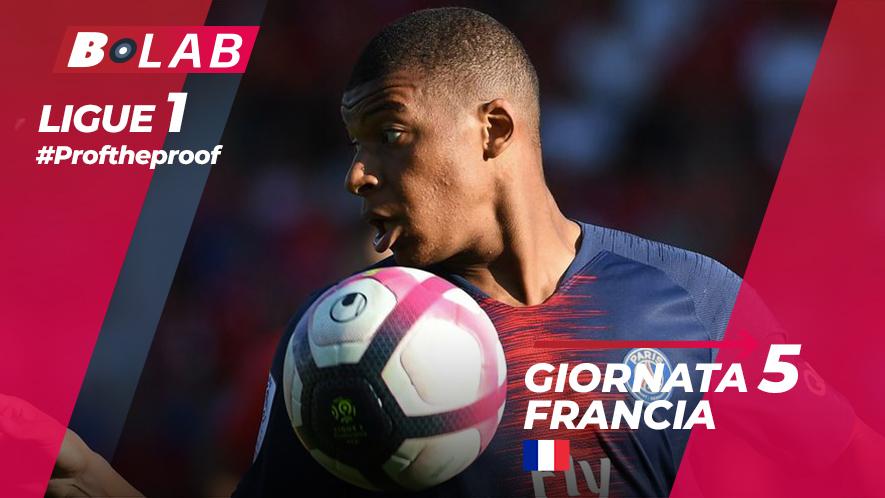 Ligue 1 del PROF Giornata 5