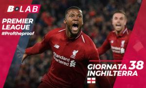 Premier League del PROF Giornata 38