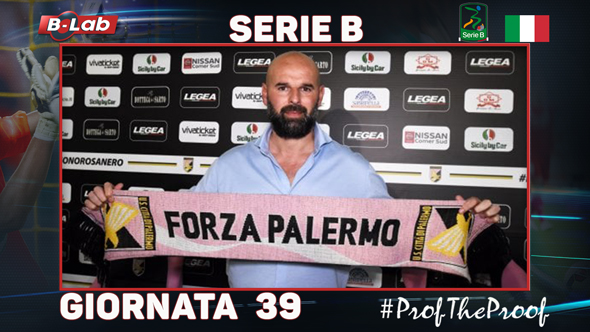 SerieB del PROF Giornata 39