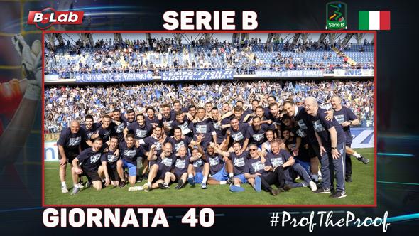SerieB del PROF Giornata 40