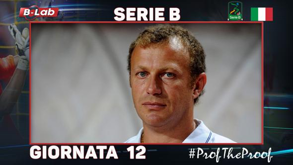 Serie B del Prof Giornata 12 sabato 28 domenica 29 ottobre 2017 analisi pronostici multipla bolletta quote di tutte le partite