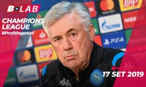 Champions League 17 Settembre 2019