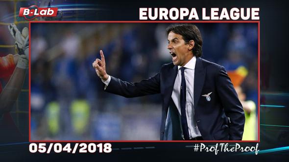 Europa League del 5 Aprile 2018
