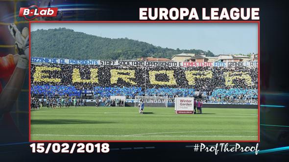 Europa League del 15 Febbraio 2018