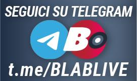 canale ufficiale di BLABlive su Telegram