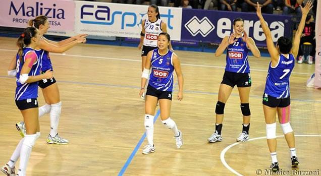 Serie A1 Volley femminile domenica 19 novembre