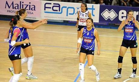 Serie A1 Volley femminile mercoledì 15 novembre