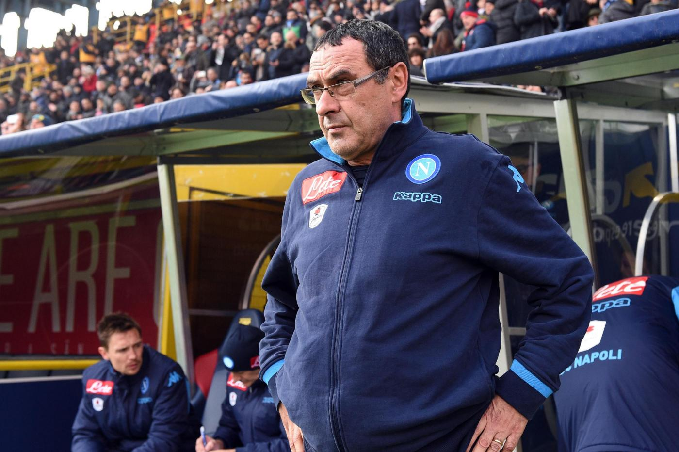 Napoli, Sarri: A Bologna non abbiamo giocato come sappiamo