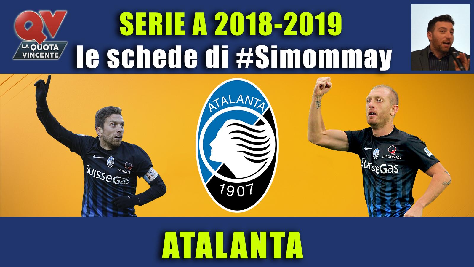 Guida Serie A 2018-2019 ATALANTA: tutti i numeri e i dati sulla Dea