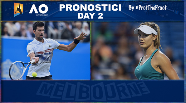 Tennis Australian Open 2018 Day 2
