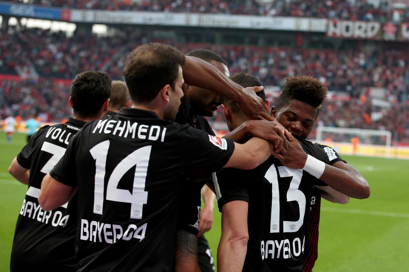 Francoforte-Leverkusen 18 ottobre bundesliga