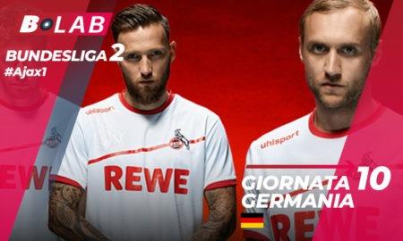Bundesliga 2 Giornata 10